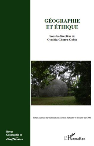 Couverture Géographie et éthique