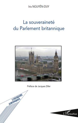 La Souverainete Du Parlement Britannique Iris Nguyen Duy Livre Ebook Epub