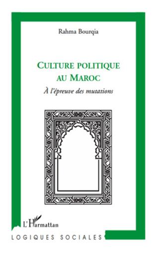 Couverture Culture politique au Maroc