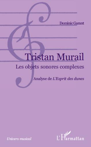 Couverture Tristan Murail
