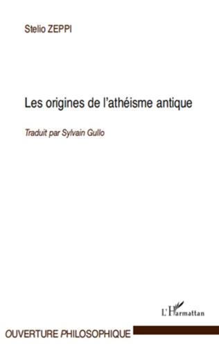 Couverture Les origines de l'athéisme antique