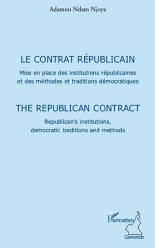 Couverture Le contrat républicain