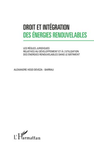 Couverture Droit et intégration des énergies renouvelables