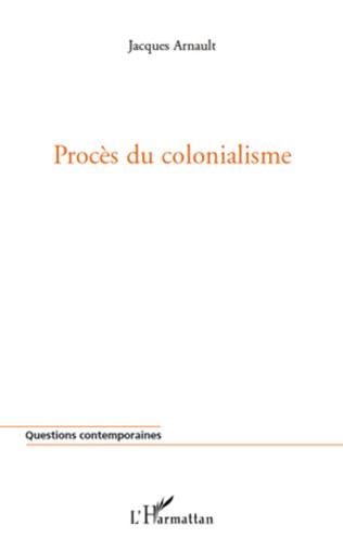 Couverture Procès du colonialisme