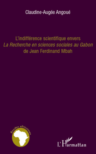 Couverture L'indifférence scientifique envers