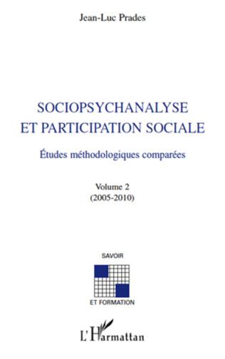 Couverture Sociopsychanalyse et participation sociale