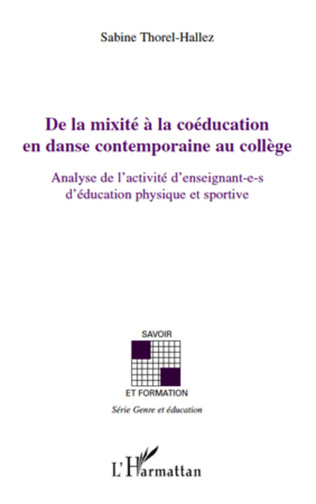 Couverture De la mixité à la coéducation en danse contemporaine au coll
