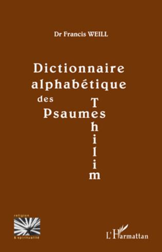 Couverture Dictionnaire alphabétique des psaumes (Tehilim)
