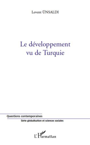 Couverture Le développement vu de Turquie