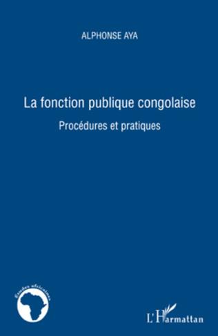 Couverture La fonction publique congolaise