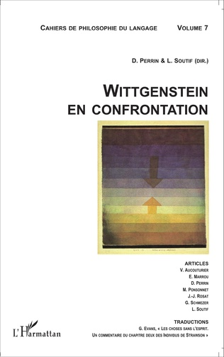 Couverture Wittgenstein en confrontation