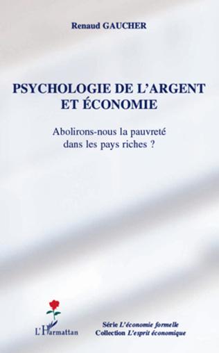 Couverture Psychologie de l'argent et économie