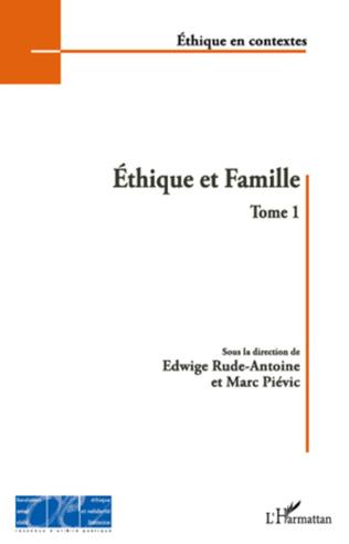 Couverture Ethique et Famille (Tome 1)