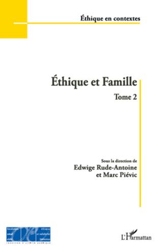 Couverture Ethique et Famille (Tome 2)