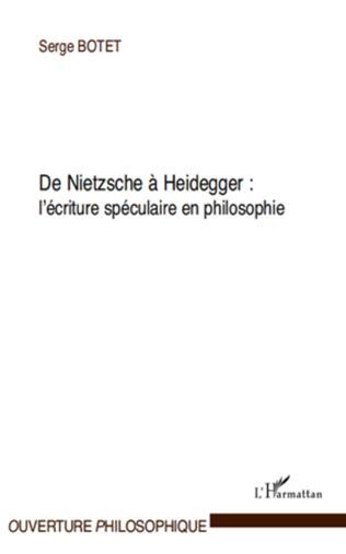 Couverture De Nietzsche à Heidegger :