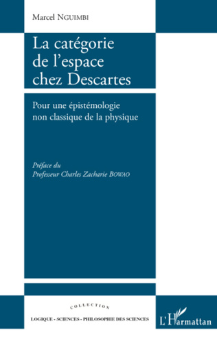 Couverture La catégorie de l'espace chez Descartes
