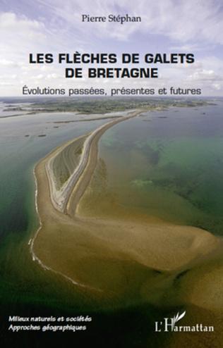 Couverture Les flèches de galets de Bretagne