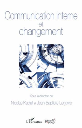 Couverture Communication interne et changement