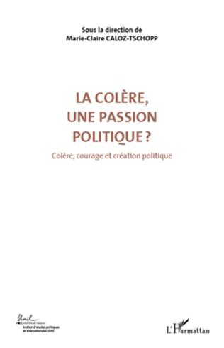 Couverture La colère, une passion politique ? (Volume 3)