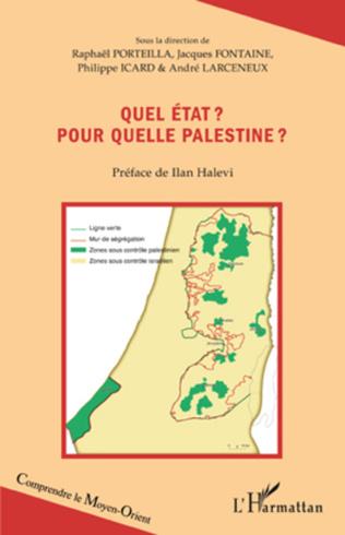 Couverture Quel état ? Pour quelle Palestine ?