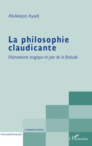 Couverture La philosophie claudicante
