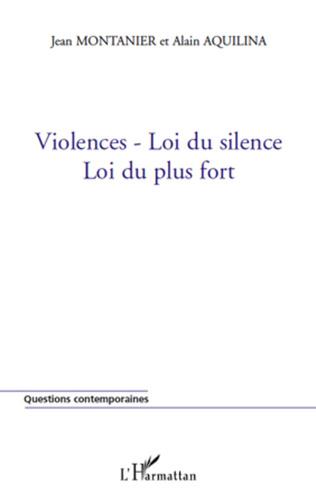 Couverture Violences-Loi du silence