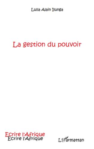 Couverture GESTION DU POUVOIR
