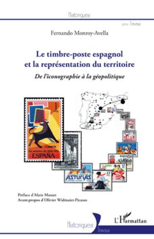 Couverture Le timbre-poste espagnol et la représentation du territoire