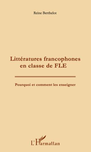 Couverture Littératures francophones en classe de FLE