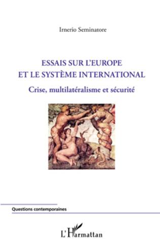 Couverture Essais sur l'Europe et le système international