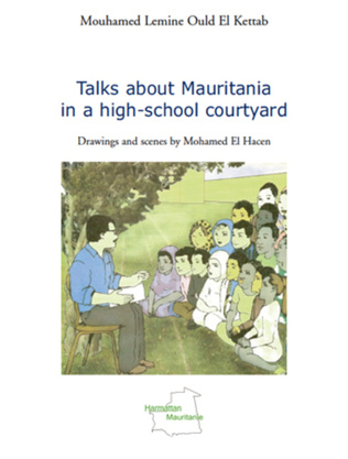 Couverture Talks about Mauritania in a high-school courtyard