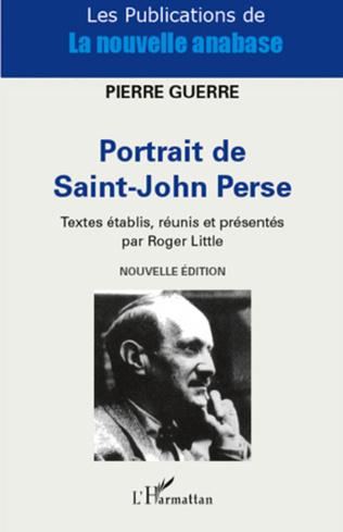 Couverture Portrait de Saint-John Perse