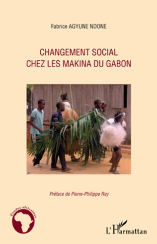 Couverture Changement social chez les Makina du Gabon