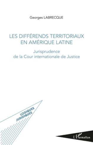 Couverture Les différends territoriaux en Amérique Latine