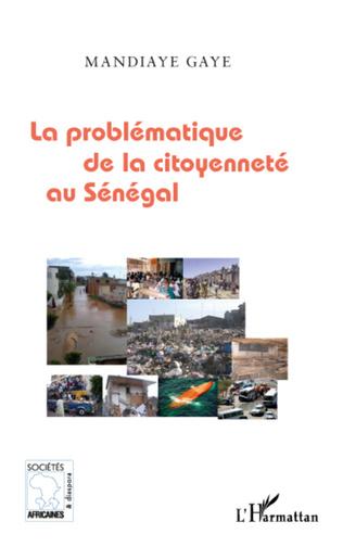 Couverture La problématique de la citoyenneté au Sénégal