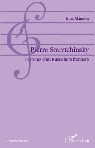 Couverture Pierre Souvtchinsky