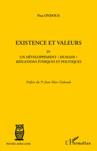 Couverture Existence et valeurs IV