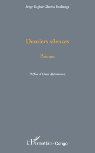 Couverture Derniers silences