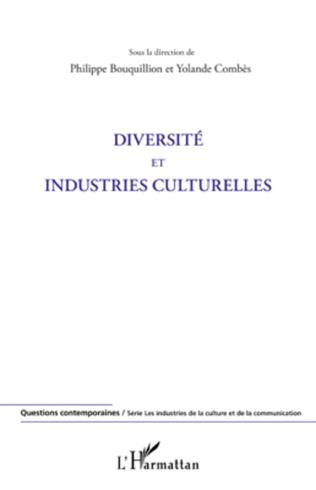 Couverture Diversité et industries culturelles