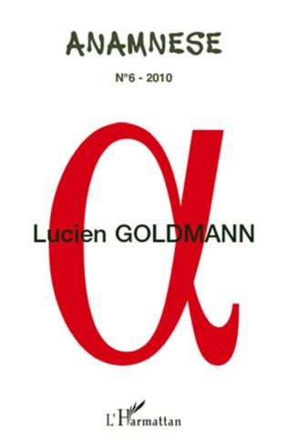 Couverture Lucien Goldmann