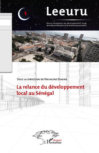 Couverture Relance du développement local au Sénégal