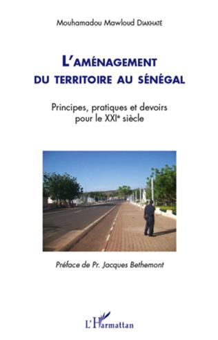 Couverture L'aménagement du territoire au Sénégal