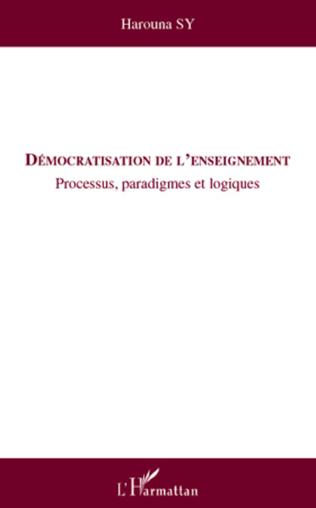 Couverture Démocratisation de l'enseignement