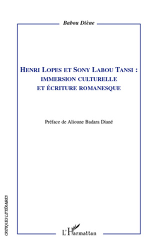 Couverture Henri Lopes et Sony Labou Tansi :
