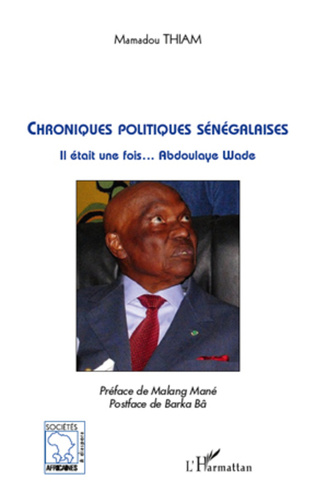 Couverture Chroniques politiques sénégalaises