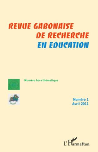 Couverture Revue gabonaise de recherche en éducation