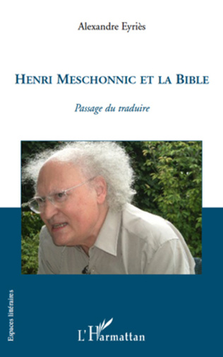 Couverture Henri Meschonnic et la Bible