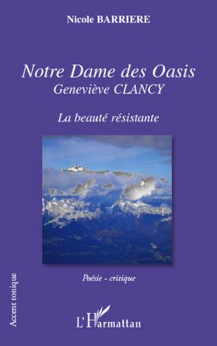 Couverture Notre Dame des Oasis