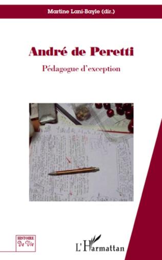 Couverture André de Peretti