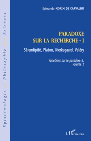 Couverture Paradoxe sur la recherche I